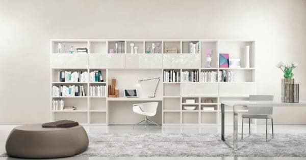 ۱۰ طرح کتابخانه خانگی زیبا و خلاقانه