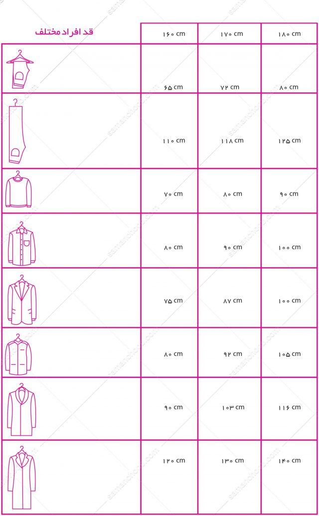 چیدمان لباس در کمد دیواری,طراحی کمد دیواری,چیدمان کمد دیواری ایرانی
